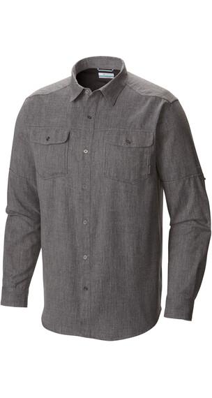 Columbia Pilsner Lodge overhemd en blouse lange mouwen grijs